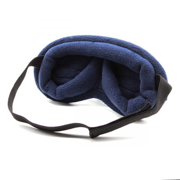 Navy Sleep and Sound Infinity Light Blocking Sleep Mask