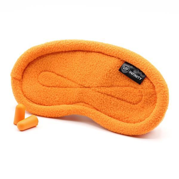 Orange Infinity Sleep Mask
