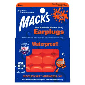 kids waterproof earplugs