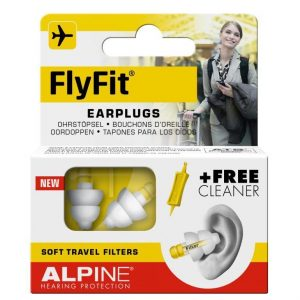 packaging for alpine flyfit earplugs for flying