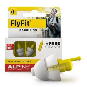 alpine flyfit earplugs packaging