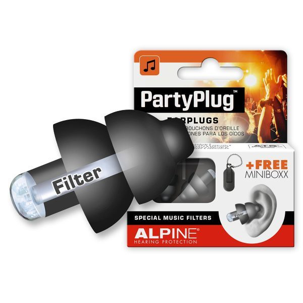 alpine reusable party plugs for music