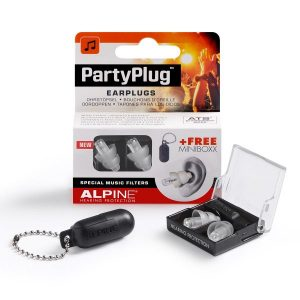 alpine reusable party plugs for dance party