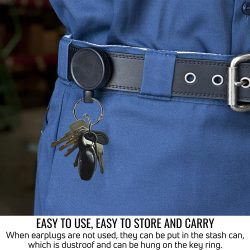belt clip for Earasers Earplugs