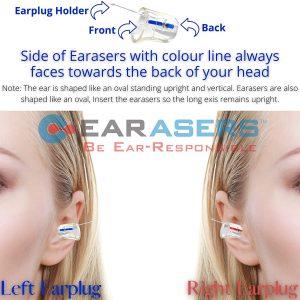 fitting Earasers Earplugs
