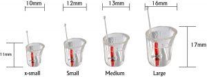 Earasers Earplugs sizes