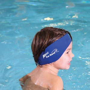 Kid Wearing Headband for Swimming