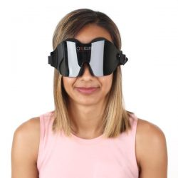 lady wearing Total Eclipse Soft Foam Sleep Mask
