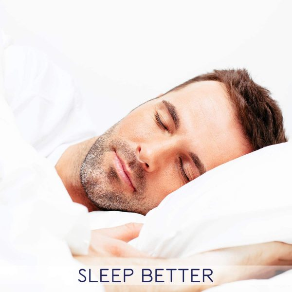 man sleeping with nasal dilator airmax