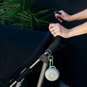 White noise on stroller