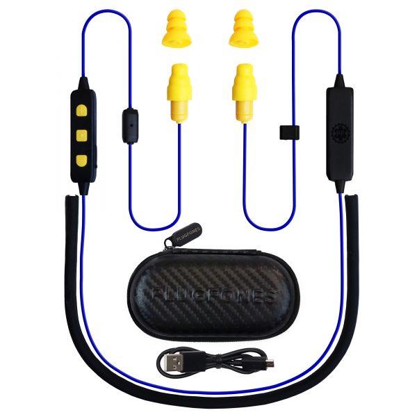 free Powerbank Flashlight Plugfones Earplugs with Earphones and
