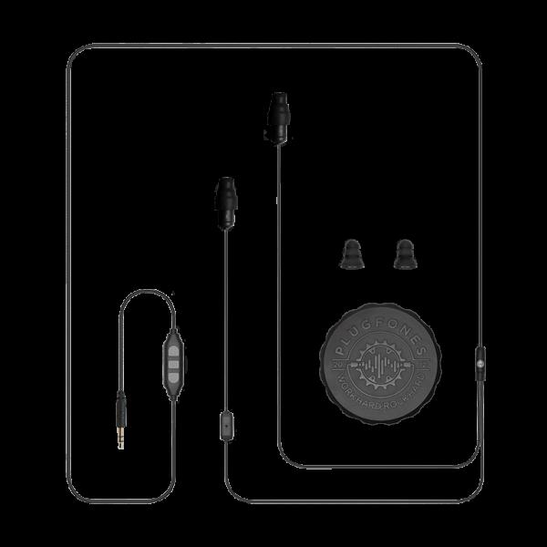plugfones black cable