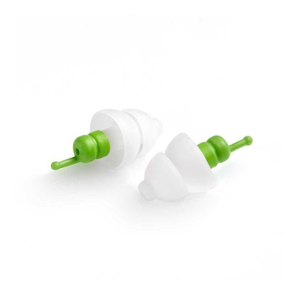 pair of alpine sleepsoft earplugs