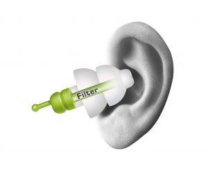 inserting alpine sleepsoft earplugs