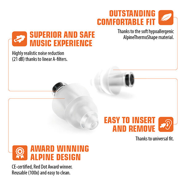 details of party earplugs