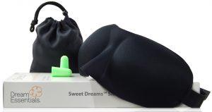 black dream essential sweet dreams sleep mask