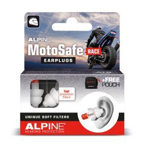 Box of Alpine Motosafe Earplugs For Racing (NEW PRODUCT)