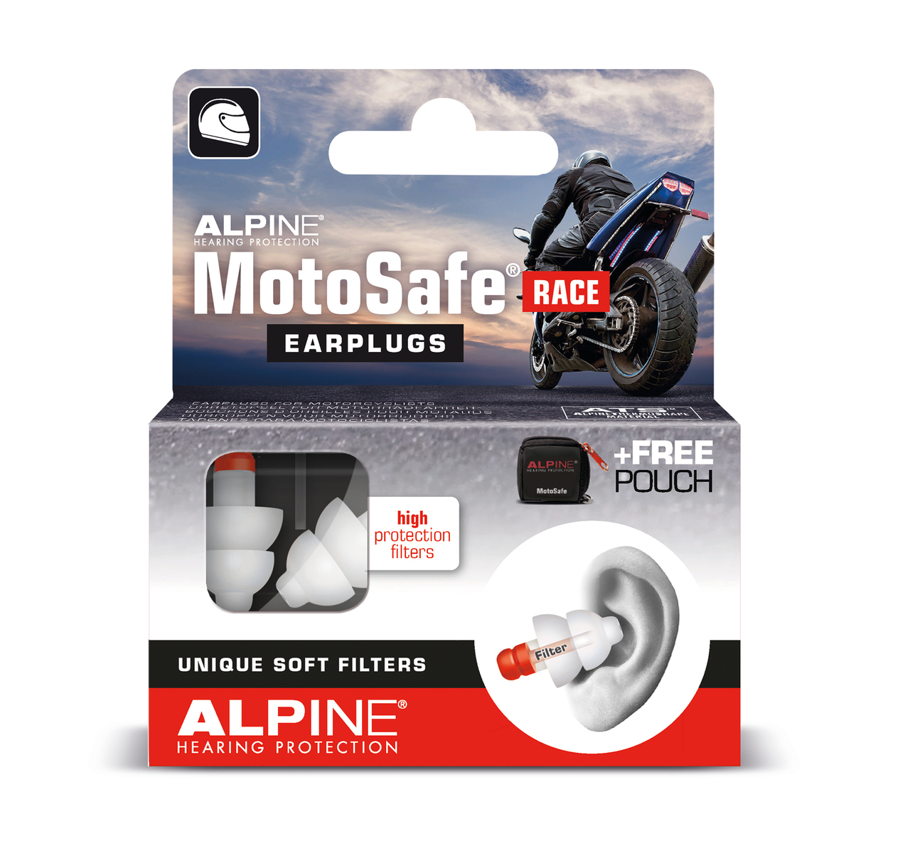 Alpine Motosafe Earplugs For Racing Sleep And Sound