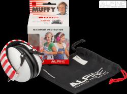 Alpine White Muffy - Kids Ear Muffs
