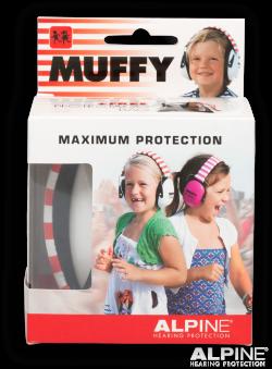 Red Coloured Alpine Muffy - Kids Ear Muffs