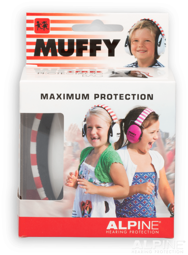 Red Coloured Alpine Muffy - Kids Ear Muffs