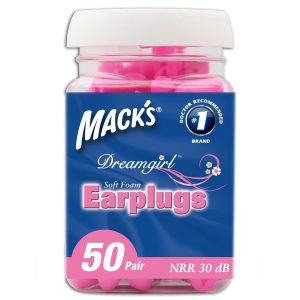 Mack's Dreamgirl Earplugs For Her - 50 Pair