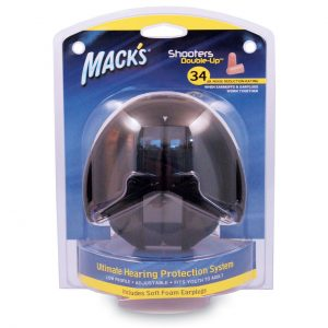 Packaging for Macks Double-Up Earmuffs