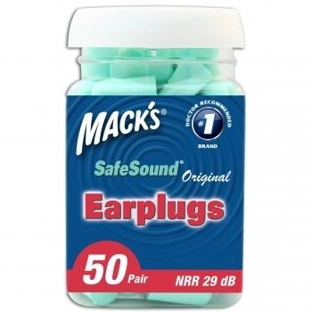 Mack's Original Soft Foam Ear Plugs