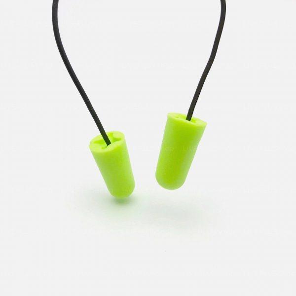 Macks Hi Viz Corded - 100 Pair - Soft Foam Bulk Earplugs