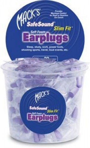 Mack's Slim Fit Earplugs for Smaller Ears