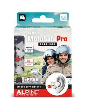 ALPINE MOTOSAFE PRO (Tour & Racing EarPlugs)