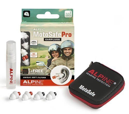 Packaging for ALPINE MOTOSAFE PRO (Tour & Racing Plugs)