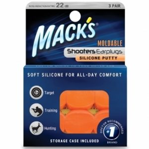Mack's Shooters Silicone Ear Plugs