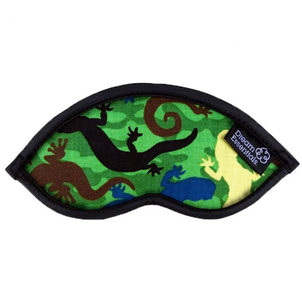 Gecko Childrens Travel Sleep Mask Hush Geckos