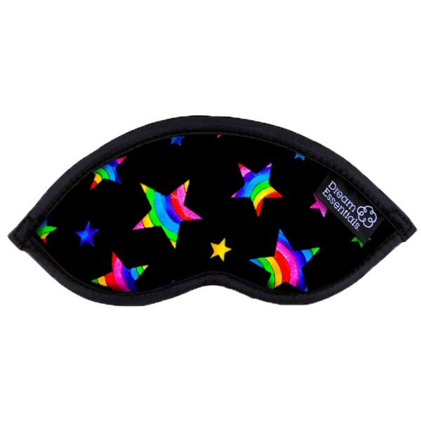 Stars Childrens Travel Sleep Mask Hush Rainbow Stars