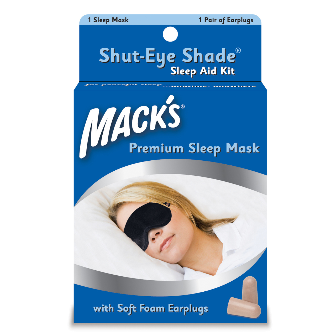 Macks Shut Eye Shade - Sleep Aid Kit