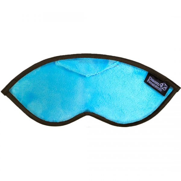 Luxury Opulence Plush Sleep Mask Aqua