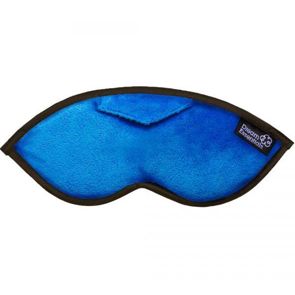 Luxury Opulence Plush Sleep Mask Blue