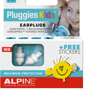 Alpine Kids Pluggies Earplugs for Children Packaging