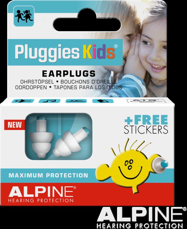 Alpine Kids Pluggies - Earplugs for Children