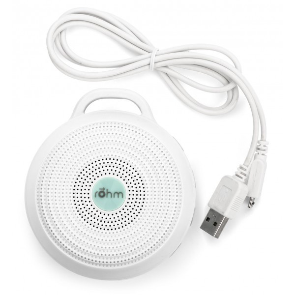 Better Sleep White Noise Sound Machine For Adults And: Rohm Portable White Noise Sound Machine