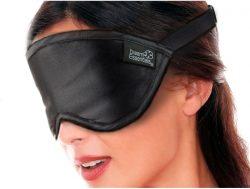 Luxury Silk Eye Mask Black