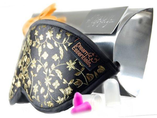 Dreamer Luxury Sleep Mask - GIFT PACK with Earplugs