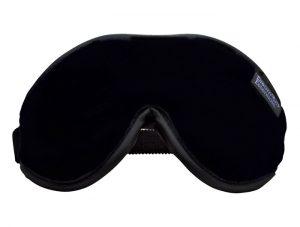 Black Escape Luxury Eye Mask Black