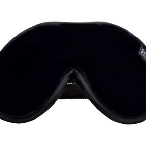 Black Escape Luxury Eye Mask Black