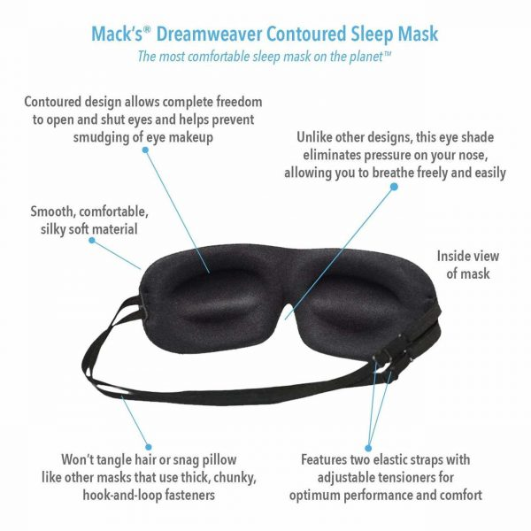 Dreamweaver Contoured Sleep Mask Set