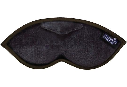 Luxury Black Opulence Plush Sleep Mask (FREE Earplugs)