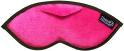 Luxury Opulence Plush Sleep Mask Hot Pink