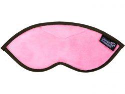 Luxury Opulence Pink Plush Sleep Mask (FREE Earplugs)