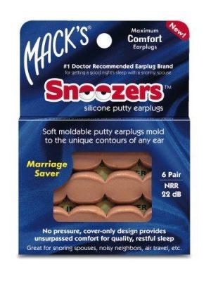 Snoozers Silicone Earplugs
